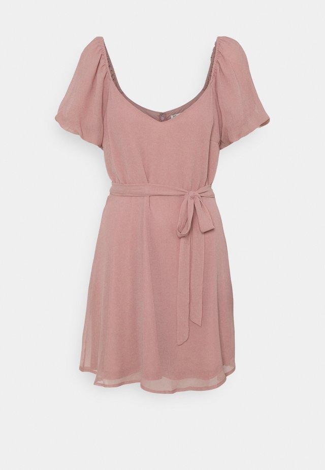 CUTE SLEEVE DRESS - Vestito elegante - dusty pink