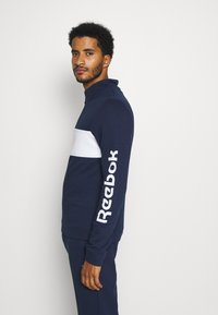 Reebok - LINEAR LOGO SET - Tracksuit - dark blue - 6