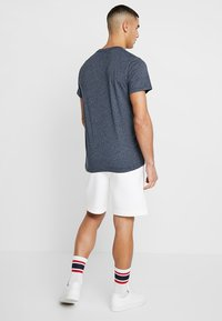 Hollister Co. - CORP ICON CREW - Print T-shirt - navy - 2