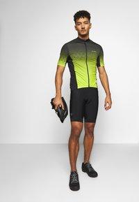 LÖFFLER - BIKE EVO - T-Shirt print - black/light green - 1