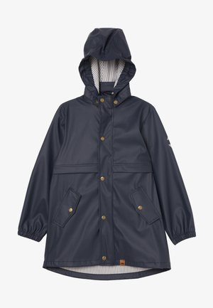 GIRLS RAIN COAT - Waterproof jacket - blue nights