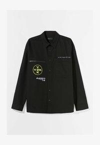 Bershka - Summer jacket - black - 4