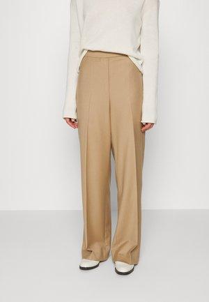 WIDE PULL ON - Kalhoty - palomino