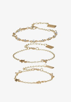 3 PACK - Bracelet - gold-coloured