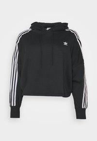 adidas Originals - CROPPED HOOD - Hoodie - black - 4