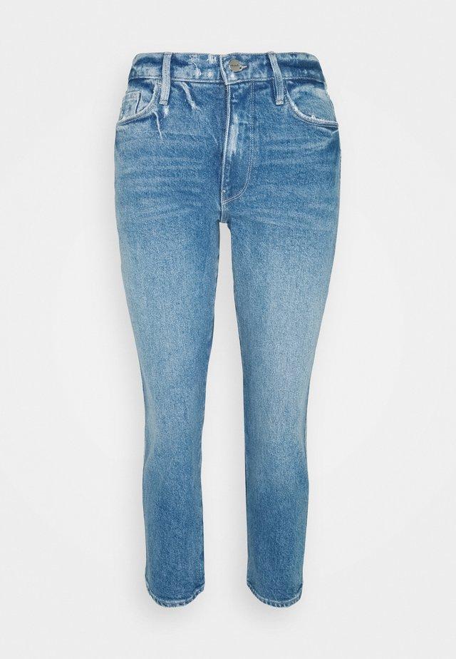LE PIXIE SYLVIE CROP - Jeans slim fit - clarin cain