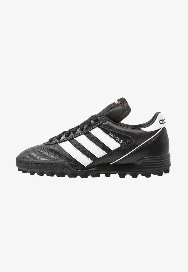 KAISER 5 TEAM TF - Astro turf trainers - black/running white