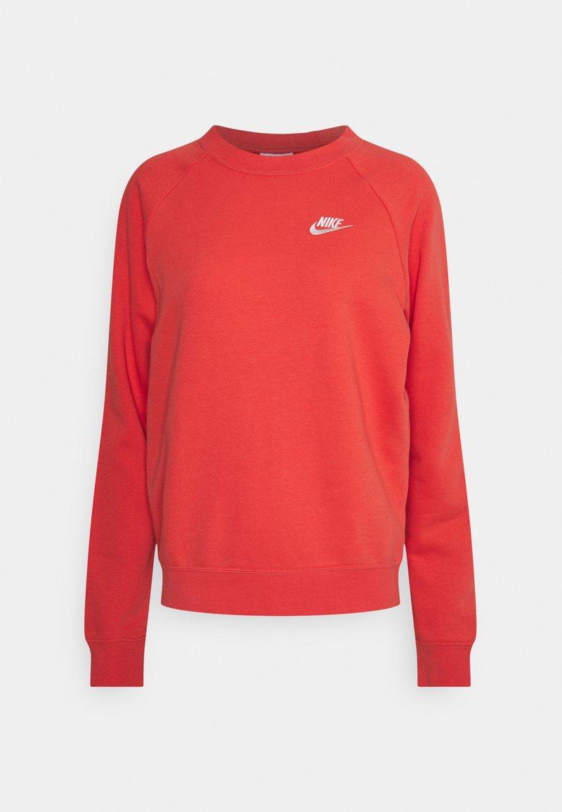Nike Sportswear - CREW - Sweatshirt - magic ember/white