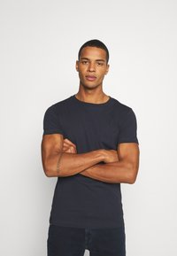 Replay - 2 PACK - T-shirt basic - navy/navy - 2