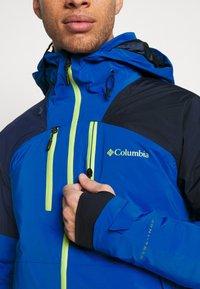 Columbia - WILD CARDJACKET - Snowboard jacket - bright indigo/collegiate navy - 5