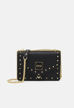 STUDS REVOLUTION CROSSBODY - Schoudertas - nero
