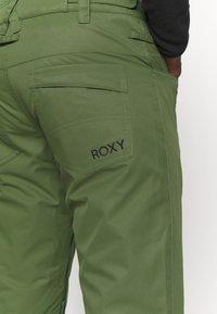 Roxy - BACKYARD - Zimní kalhoty - bronze green - 6
