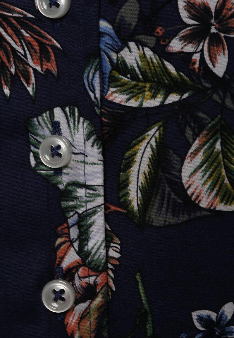 Franco Callegari - Button-down blouse - indigo mehrfarbig
