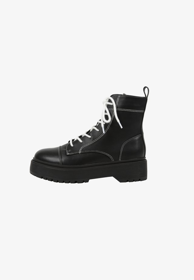 KITT - Bottines à plateau - black