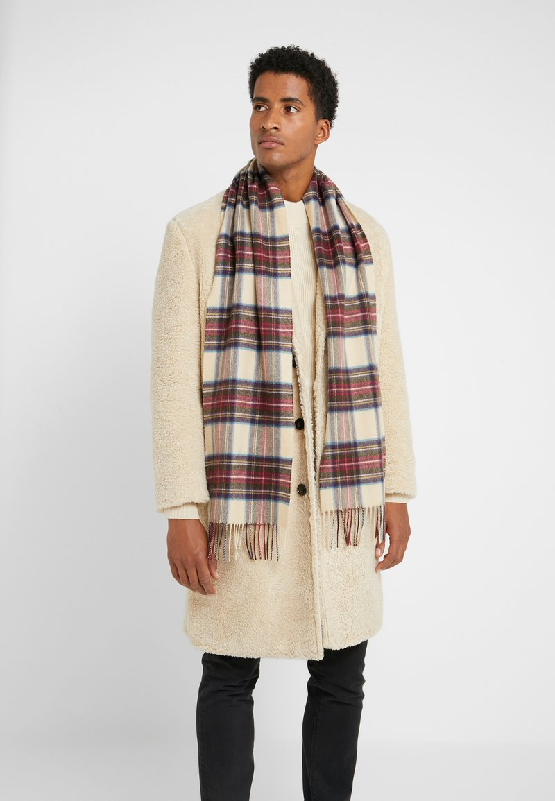 Johnstons of Elgin - 100% Cashmere Tartan Scarf - Sciarpa - hessian dress steward