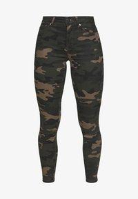 ONLY Petite - ONLNINE ESTER PANTS - Pantaloni - peat - 4