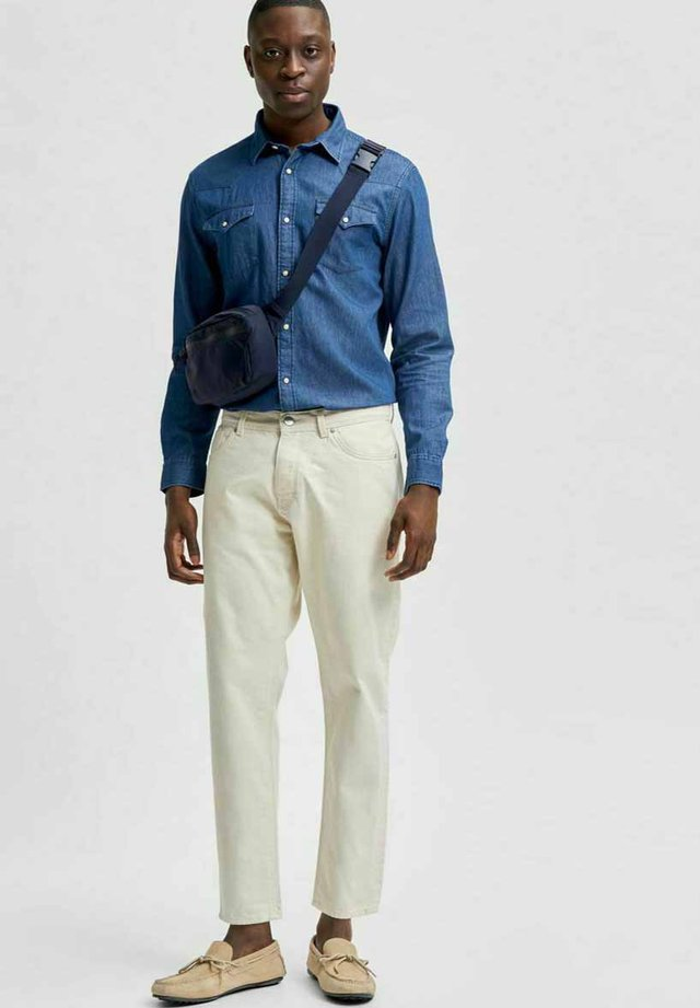 Jeans slim fit - egret
