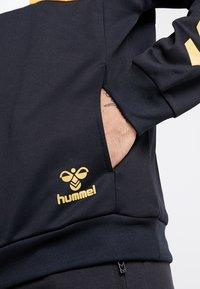 Hummel - HMLDRACO HALF ZIP - Sweatshirt - black - 5