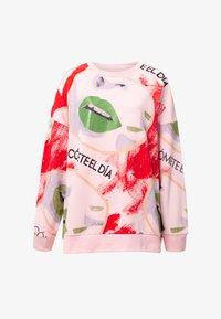 Desigual - LIPSING - Sweatshirt - red - 4