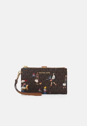 JET SET WRISTLET - Wallet - brown/multi