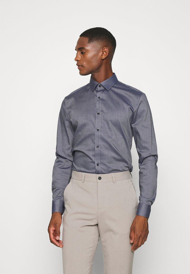 OLYMP No. Six - No. 6 - Formal shirt - marine