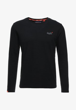 ORANGE LABEL VINTAGE TEE - Longsleeve - black