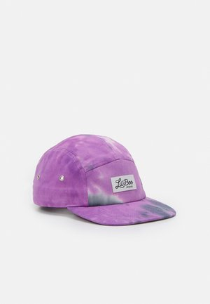 PANEL TIE DYE - Cap - purple/black
