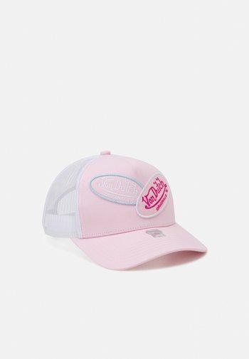 TRUCKER MULTILOGO UNISEX - Cap - light pink/white