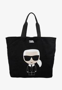 KARL LAGERFELD - Bolso shopping - black - 5
