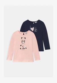OVS - 2 PACK - T-shirt à manches longues - primrose pink - 0