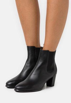 MISTER - Boots à talons - black