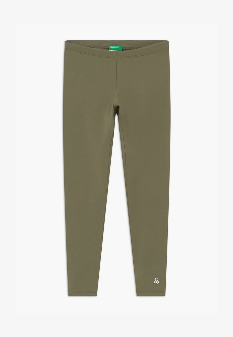 Benetton - EUROPE GIRL - Leggings - Trousers - khaki