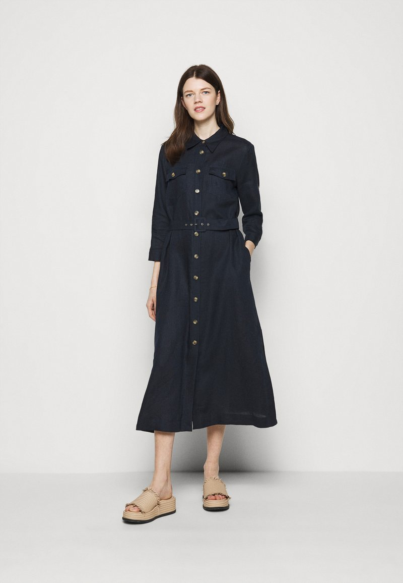 Marella - PENNY - Košilové šaty - blu