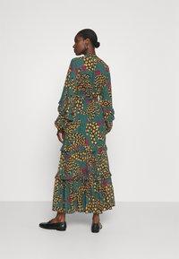 Farm Rio - TEAL BANANA MAXI DRESS - Maxi dress - multi - 2