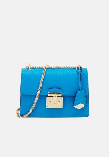 CRIWIEL - Across body bag - diva blue/gold-coloured