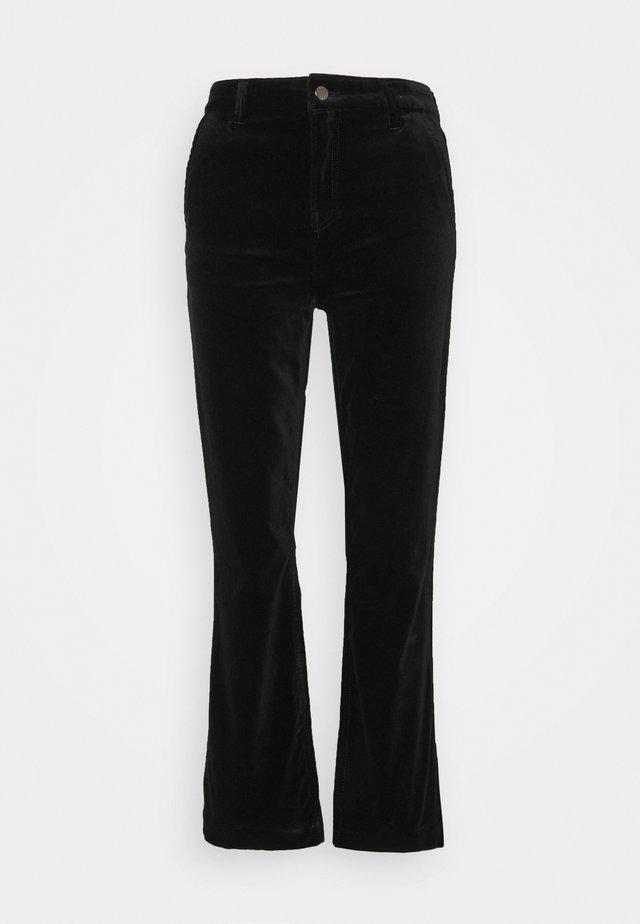 MARIJA FLARE  - Pantalon classique - black