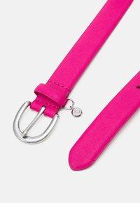 Lauren Ralph Lauren - CROSSHATCH CHARM CLASSC - Pásek - nouveau bright pink - 1