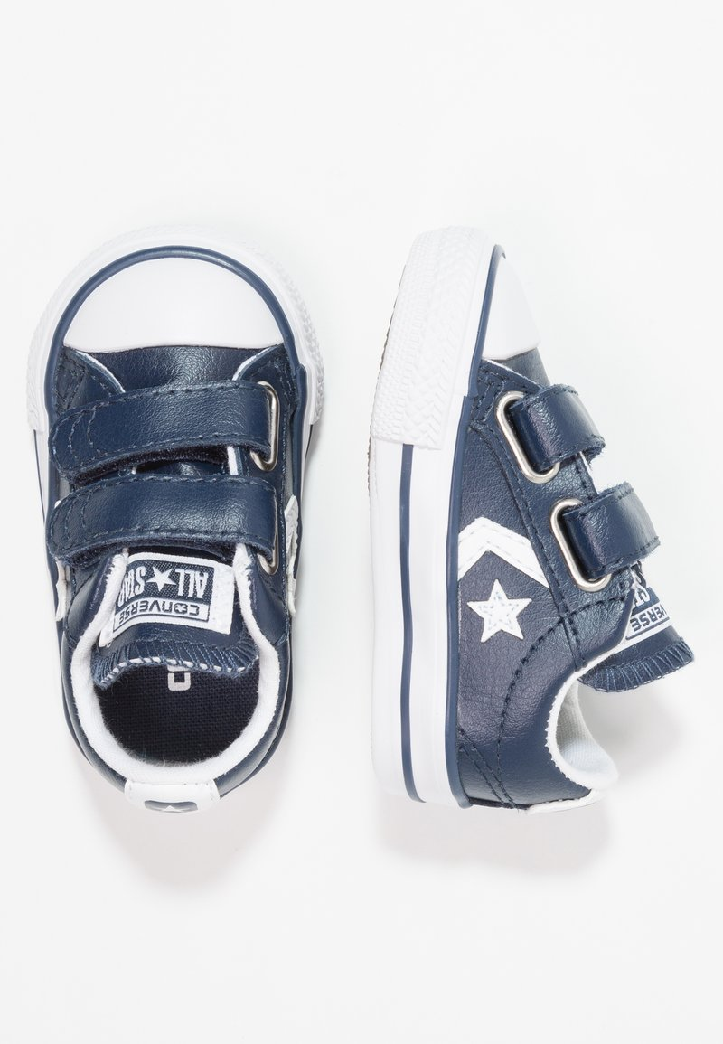 Converse - STAR PLAYER INFANT - Baby shoes - navy/white