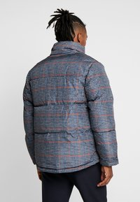 Topman - PLAID CHECK PUFFER - Winterjas - blue - 2