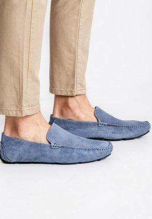 TAIBON - Nazouvací boty - blue