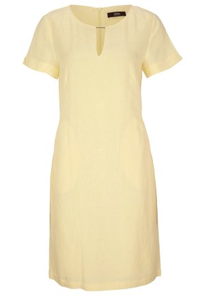 Day dress - soft yellow