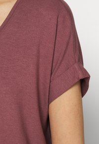 ONLY - ONLMOSTER ONECK - T-shirt basic - rose brown - 4