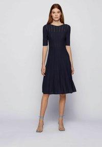 BOSS - Jumper dress - open blue - 1