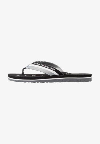 LOVES BEACH - T-bar sandals - black