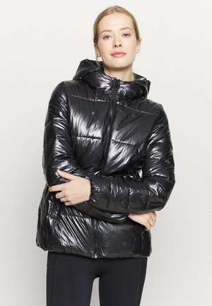 HOODED JACKET LEGACY - Kurtka zimowa - black