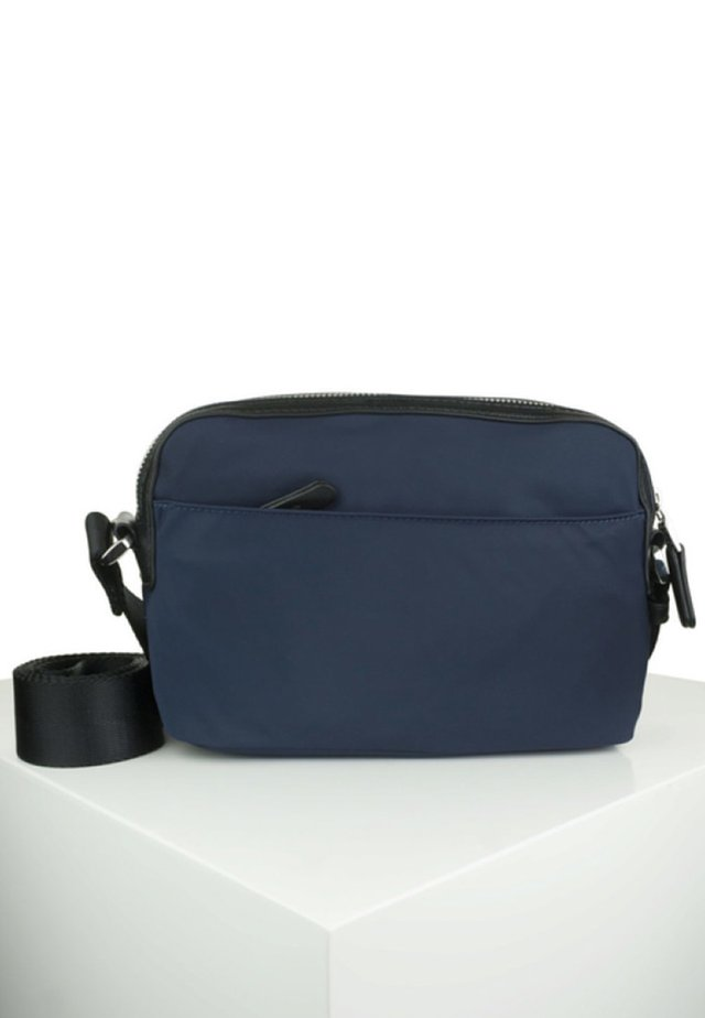 HUNTER - Schoudertas - dark blue