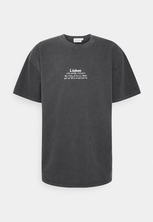 LISBON HERTIAGE PRINT TEE - T-shirts print - black