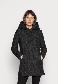 ONLY - Klasický kabát - black/melange - 0