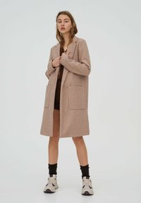 PULL&BEAR - Klasický kabát - rose gold - 0
