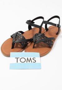 TOMS - LEXIE - T-bar sandals - black - 7
